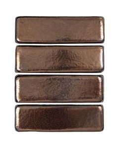 "Arto Brick - Metallic: Oleson Bronze 3""x9"" - Terracotta Tile"