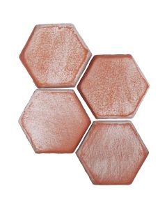 "Arto Brick - Peninsula: Hexagon Paver 4""x4"" - Ceramic Tile"