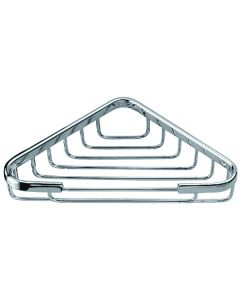 "Dawn® Triangle Basket 6-1/2"" x 6-1/2"" Chrome"