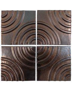 "Arto Brick - Metallic: Target Bronze 6""x6"" - Ceramic Tile"