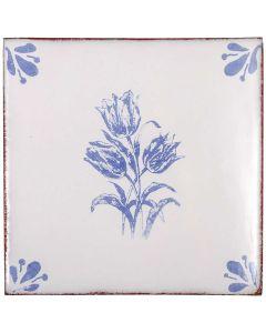 "Arto Brick - Peninsula: Tulipd 6""x6"" - Ceramic Tile"