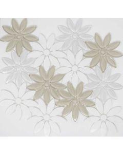 Elysium - Daisy: Daisy Beige - Mosaics