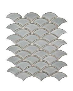 Elysium - Roman: Dragon Scale Grey- Mosaics