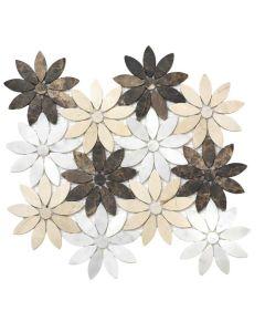 Elysium - Precious Stone: Daisy Emperador- Mosaics