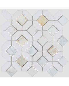 Elysium - Jewel: Eclipse Calacatta Gold- Mosaics