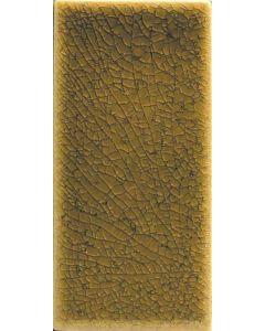 Elysium - Roman: Crackle Beige 3x6 Dark- Mosaics
