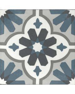"""Arto Brick - Indochine Cement: Ibiza 8""""x8"""" - Cement Tile"""