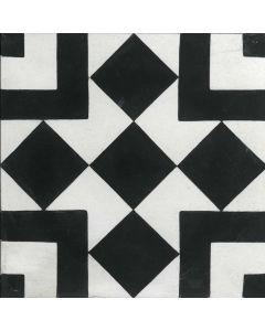 """Arto Brick - Indochine Cement: Mini Box 8""""x8"""" - Cement Tile"""