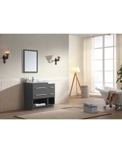 "Dawn® Gloria Vanity Set 36"" w/ Double Sink"