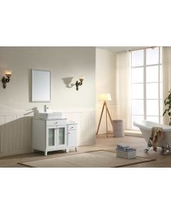 Dawn® - Julie Series: White - Double Cabinet