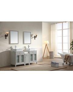 Dawn® - Julie Series: Light Grey - Double Sink