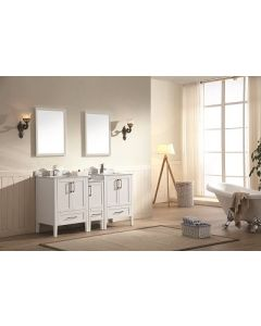 Dawn® - Ross Series: White - Double Sink