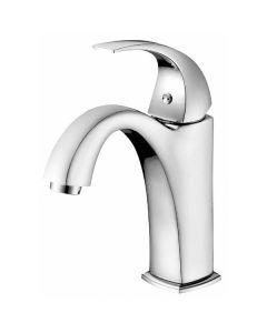 Dawn® Single-lever lavatory faucet, Chrome (Standard pull-up drain with lift rod D90 0010C included)