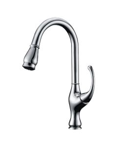 Dawn® Single-lever pull-out kitchen faucet, Chrome