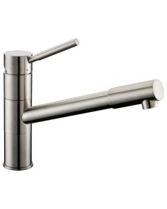 Dawn® Single-lever Pull-out kitchen faucet, Brushed Nickel