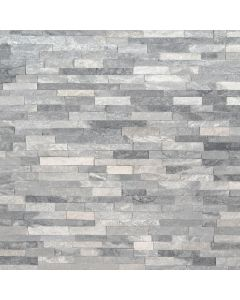 "MSI Stone - M-Series: Alaska Gray 4.5"" x 16"" - Stacked Stone Panel"