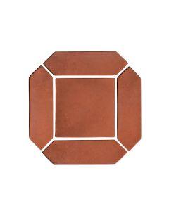 "Arto Brick - Spanish Colonial: Mission Red Picket Set 3""x11"" - Artillo Tile"