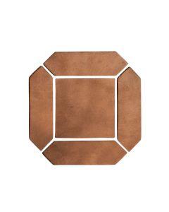 "Arto Brick - Spanish Colonial: Cotto Dark Picket Set 3""x11"" - Artillo Tile"