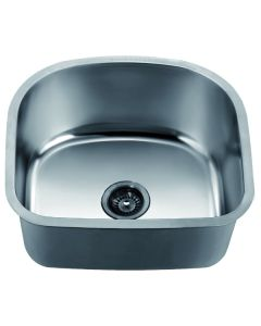 Dawn® Undermount Cresent Single Bowl Sink