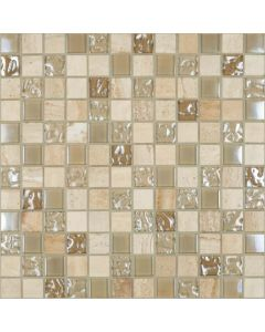 Happy Floors - Cordoba: Mosaic Cordoba Beige 12x12