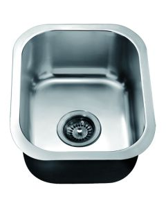 Dawn® Top Mount Single Bowl Bar Sink with 2 Holes