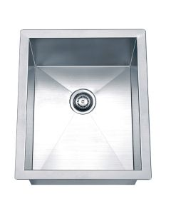 Dawn® Undermount Square Single Bowl Bar Sink