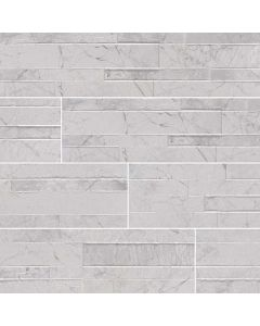 "MSI Stone - Dekora: Carrara White 6"" x 24"" - Porcelain Panel"
