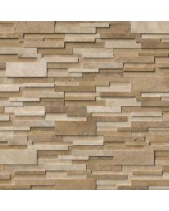 "MSI Stone - Rockmount: Casa Blend 3D Honed 6"" x 24"" - Stacked Stone Panel"