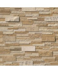 "MSI Stone - Rockmount: Casa Blend 3D Multi Finish 6"" x 24"" - Stacked Stone Panel"