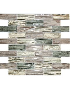 Western Pacific - Driftwood Mini Brick: Charcoal