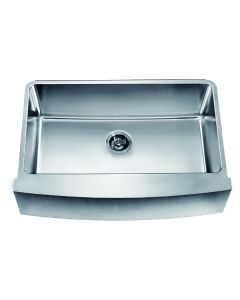 Dawn® Undermount Single Bowl with Curved Apron Front Sink
