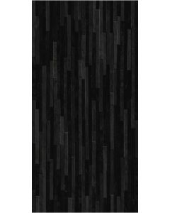 "Ottimo Ceramics - Direction: Black 12""x24"" - Porcelain Wall Tile"
