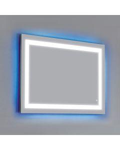 Dawn® LED Back Light Mirror w/ Matte Aluminum Frame & Touch Sensor