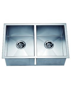 Dawn® Undermount Equal Double Square Sink