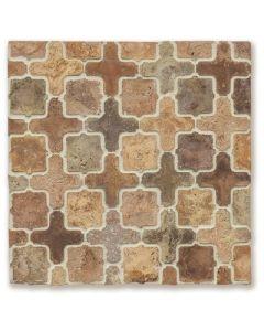 Arto Brick - Tile Artillo:24x24 Grout Board Artillo Arabesque 11A Normandy Cream- Artillo Tile