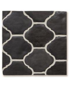 Arto Brick - Tile Artillo: 9x11 Artillo San Felipe Charcoal Gray (with Laquer Sealer)- Artillo Tile