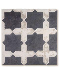 Arto Brick - Tile Artillo: Artillo Arabesque 2C Magnolia Limestone - Artillo Tile