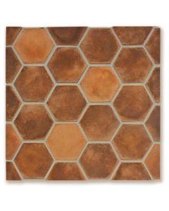 Arto Brick - Tile Artillo:  24x24 Grout Board 6x6 Hexagon Spanish Cotto- Artillo Tile