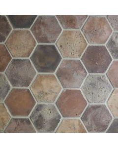 Arto Brick - Tile Artillo:24x24 Grout Board 6x6 Hexagon Normandy Cream- Artillo Tile