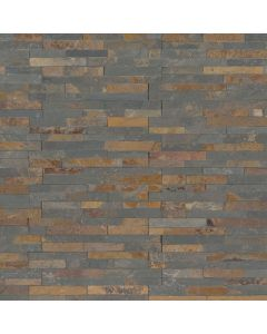 "MSI Stone - M-Series: Gold Rush 4.5"" x 6"" - Stacked Stone Panel"