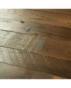 Hallmark Floors - Organic Solid: Tulsi Hickory - Solid Handscraped