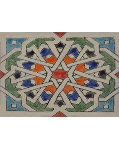 Decorative Antique Tile - HB27