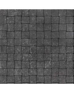 "Arto Brick - Italian Black: Trama/Nero Natural 12""x12"" - Porcelain Mosaic"