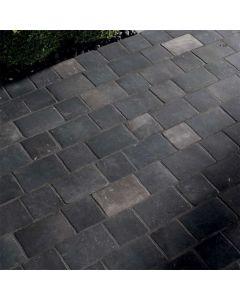 "Arto Brick - Italian Black: Nero/Vintage Rectangle 8""x12"" - Porcelain Tile"