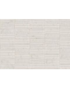 LDI - Structura: Ivoire Striped 4 x 13 - Ceramic Tile