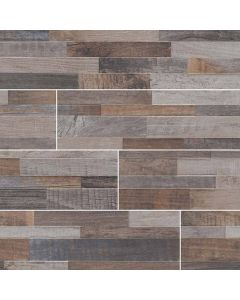 "MSI Stone - Dekora: Keywood Multicolor 6"" x 24"" - Porcelain Panel"