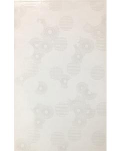 "Bellezza Ceramics - European: Kimono 10""x16""- White Glazed Ceramics"