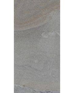 """LDI - Geologic: Delta Grey 11.5""""x47"""" - Polished Porcelain Tile"""