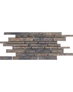"LDI - Modern Slate: Autumn 6""x24"" - Ceramic Mosaic"