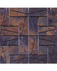 "LDI - Modern Slate: Mulitcolor 16""x16"" - HD Ceramic Tile"